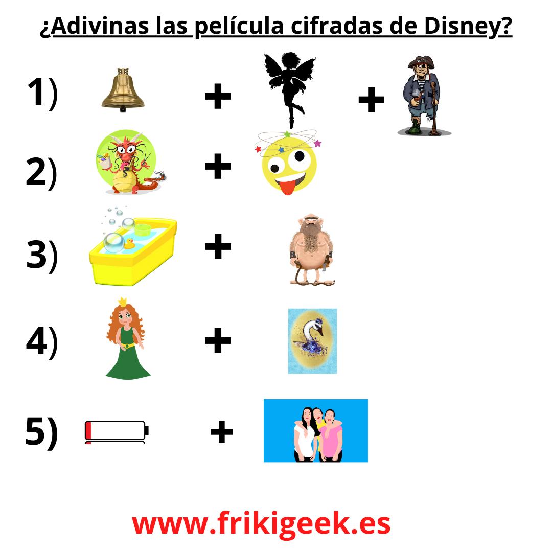 Emojis Películas de Disney